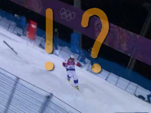 スキーのモーグルがスターウォーズだったら00