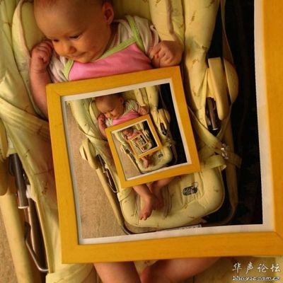 合わせ鏡のような不思議な写真03