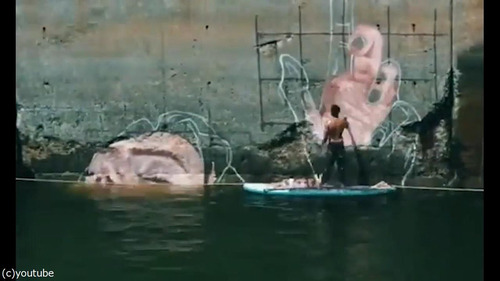 海岸の壁画の描き方02