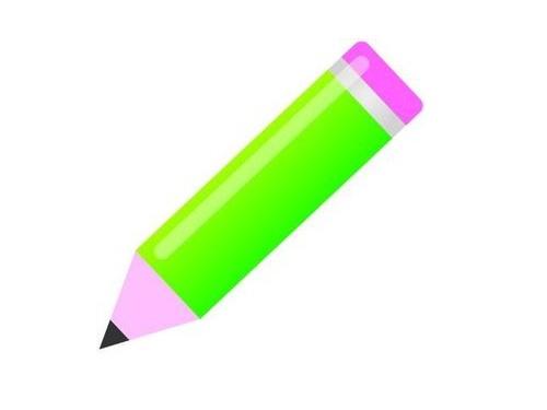 鉛筆で遊ぶクラスメート00