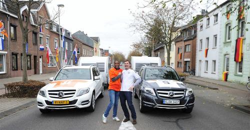 片側がオランダで片側がドイツの通り01