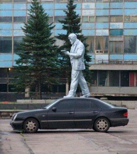 銅像の間違った楽しみ方11