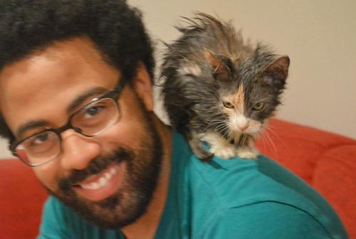 みすぼらしい猫がふさふさに01