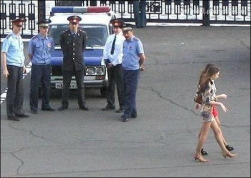 ロシアの警官01