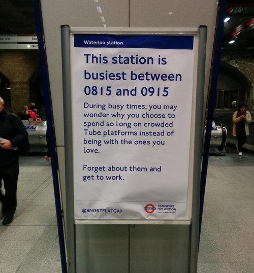 イギリスの地下鉄01