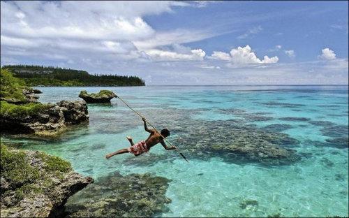 ニューカレドニアのモリ漁02