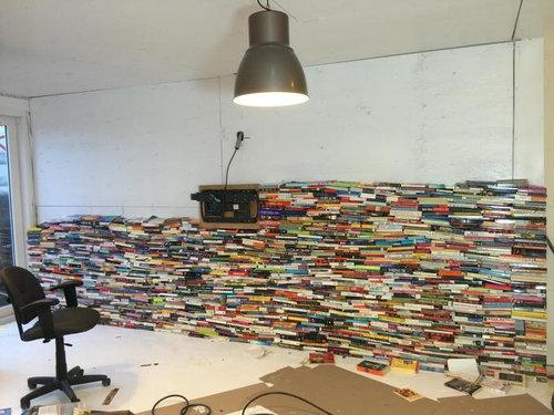 4000冊の古本でリビングをデザイン05