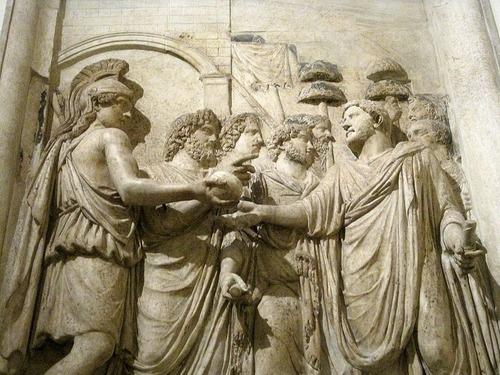 友人はローマ皇帝ハドリアヌスに似ていた00