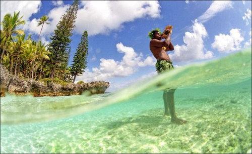 ニューカレドニアのモリ漁06