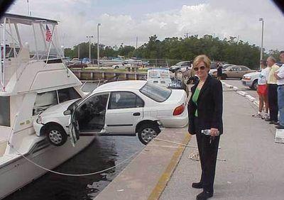 女性ドライバーの事故・失敗・下手08