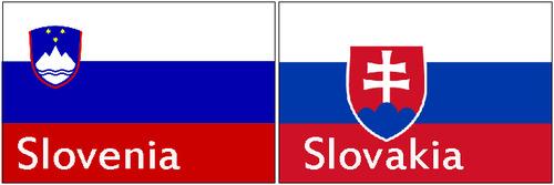 スロバキアとスロベニア01