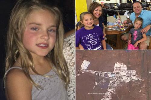 飛行機の墜落事故に遭った7歳少女が歩いて助けを求める01