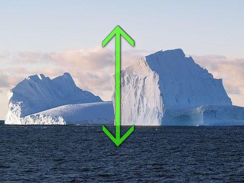 氷山が逆さ00