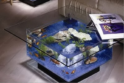 Round Acrylic Coffee Table
