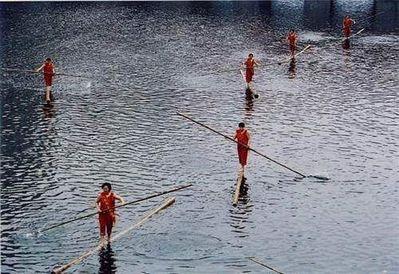 竹1本で川下り02