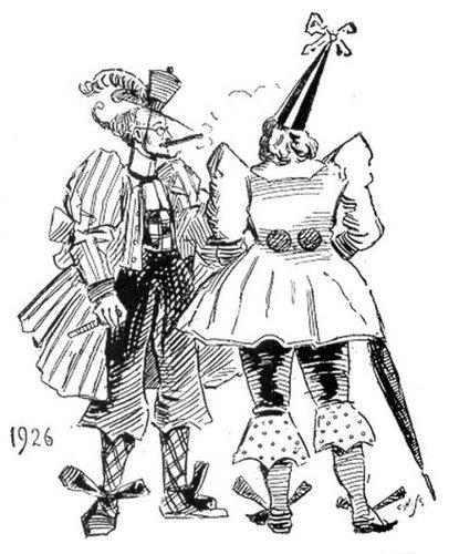 19世紀に想像した20世紀のファッション09