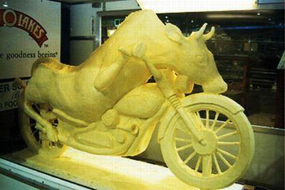 バター彫刻04