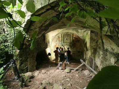 ローマ帝国時代の地下水路00
