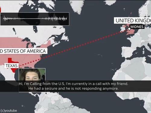 8000km離れたゲーマーが命を救う00