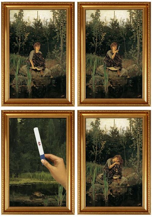 著名な絵画に前後があったら03