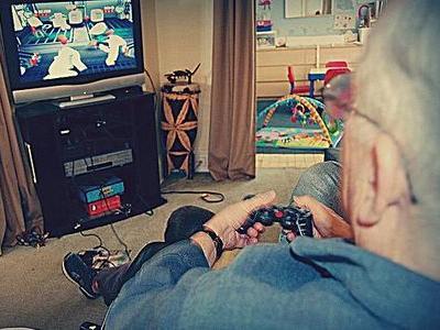 老人とゲーム