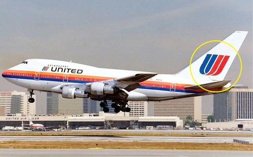 ユナイテッド航空のパロディロゴ00