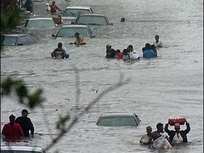 洪水で、少なくとも一番重要なものは守れたTOP