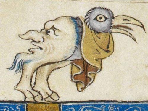 中世の本の挿絵12