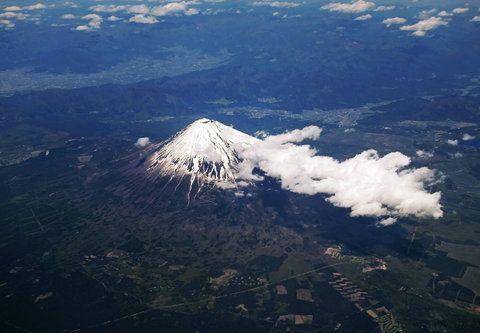 宇宙から見た「富士山」06