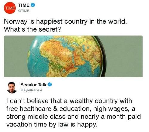 世界で最も幸せな国ノルウェー、その秘密は?01