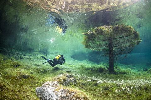 オーストリアの水中の公園02