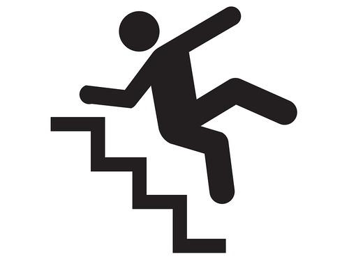 危険な謎の階段