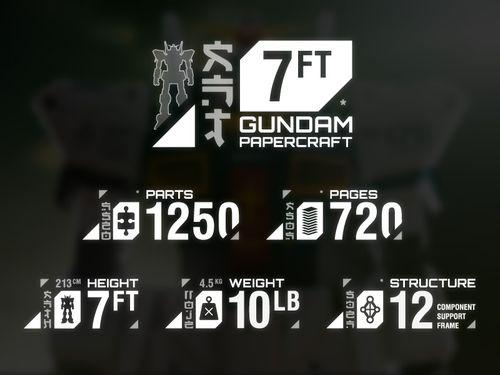ペーパークラフト・ガンダム03