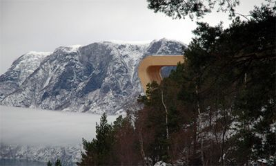 ノルウェーの展望台06