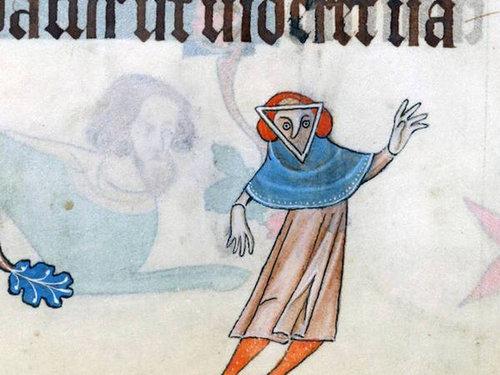 中世の本の挿絵14