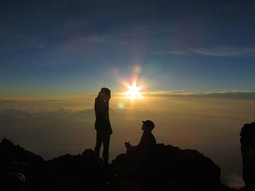 4度目の富士登山で、ようやく朝日が見られた05