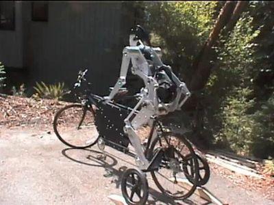 自転車ロボ