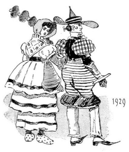 19世紀に想像した20世紀のファッション10