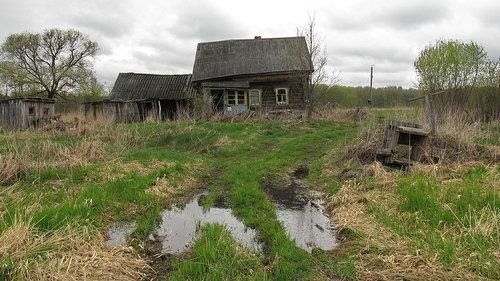 ロシアの廃村14