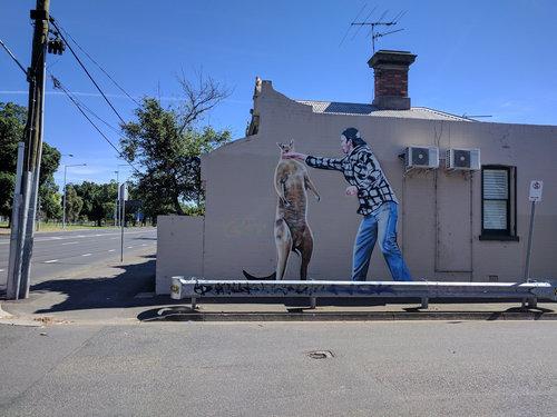 オーストラリアの落書き01