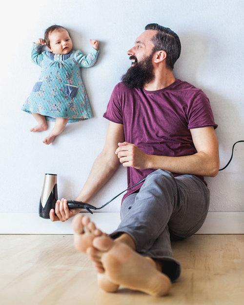 赤ちゃんの浮遊写真03