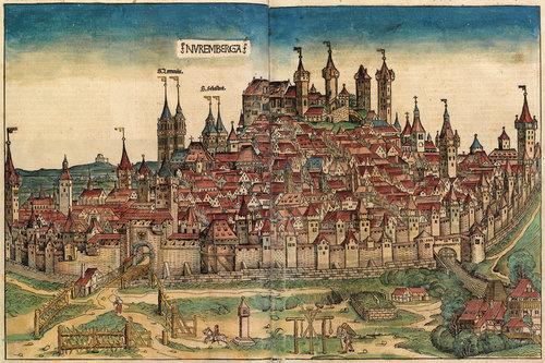1561年の上空で謎の飛行物体が戦った記録02