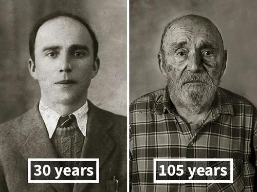 100歳越えの人の若い頃12