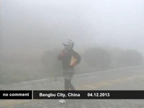 中国の大気汚染01