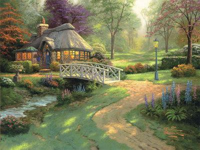 「光の画家」トーマス・キンケードの世界05