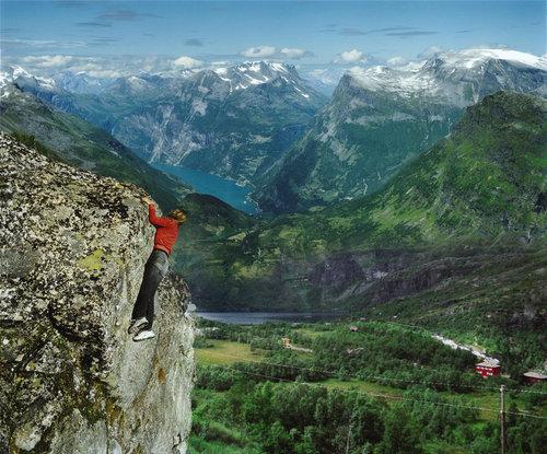 ノルウェーの絶景03