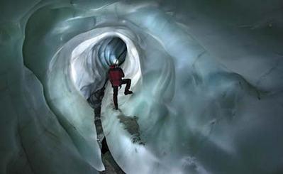 氷の洞窟02