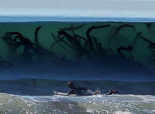 波越しに見える海草が怖い03