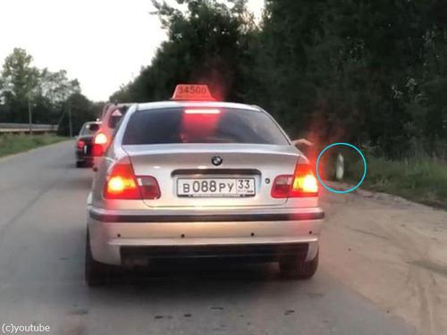 ポイ捨て客とタクシー運転手00