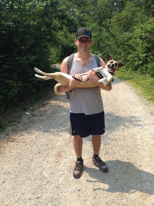 うちの犬は腰が悪いのにハイキングが大好き10